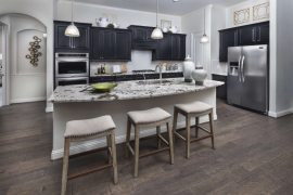 Lennar Lakes of Savannah Model Kitchen