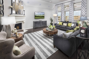 Lennar at Lakes of Savannah Living Room