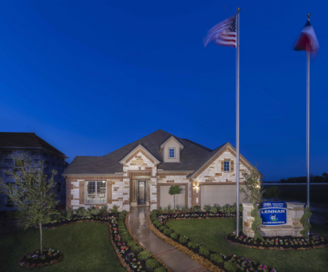 Lennar Model Home Exterior