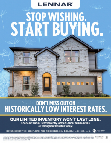 Lennar April Promotion